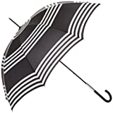 Lulu Guinness Women's Eliza 2 Striped Umbrella
