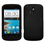 MyBat ASMYNA Astronaut Phone Protector Cover for ZTE Radiant Z740 - Retail Packaging - Black