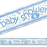 Umbrellaphants Blue Foil Banner - 3.65M