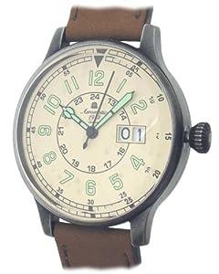 Retro Military Flier watch - Big Date - Aeromatic 1912 A1254
