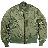 (フェローズ)PHERROW'S MA-1 ジャケット 25周年記念モデル ミリタリー 16W-MA-1 プレーンタイプ L セージグリーン