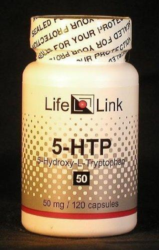 5-Htp 50Mg Lifelink 120 Caps