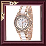 Brand new Fashion NY London Wrist Watch Best Christmas Birthday Gift Ideal Unisex Watche Rose gold with white