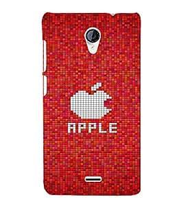 EPICCASE puzzle apple case Mobile Back Case Cover For Micromax Unite 2 A106 (Designer Case)