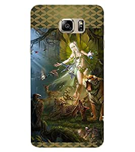 ColourCraft Loving Angel Design Back Case Cover for SAMSUNG GALAXY NOTE 7 DUOS