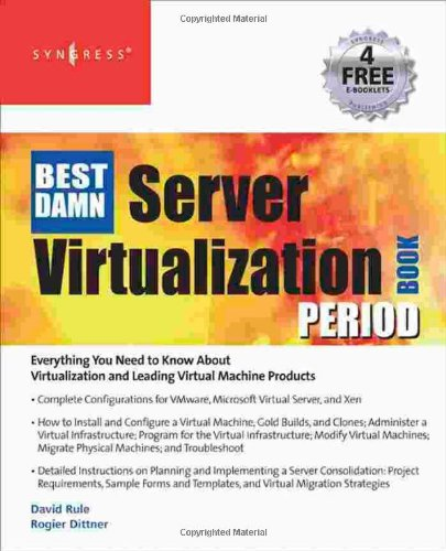 Cheap Red Hat Linux: The Best Damn Server Virtualization