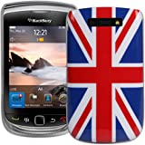 Super Slim Union Jack XYLO-Shell Hard Back Cover Case for the BlackBerry Torch 9800 / Torch 9810 2 Mobile Phone.