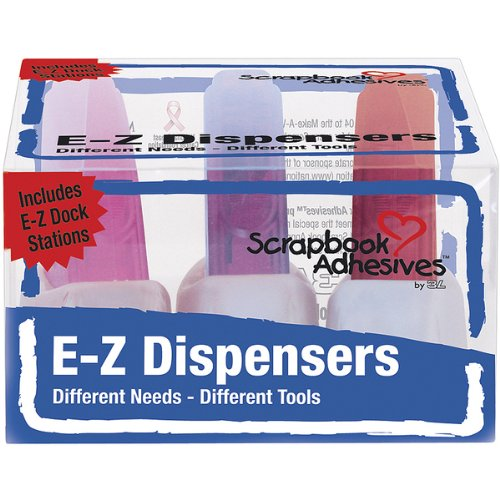 3M E-Z Dispensers And Docking Stations, 3 Per Pack
