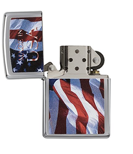 Zippo Made In USA Pocket Lighter