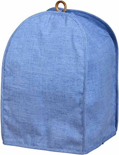Miles Kimball Blue Solid Color Coffee Maker & Kitchen Mixer Cover (Mile Maker compare prices)