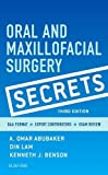 img - for Oral and Maxillofacial Surgery Secrets, 3e book / textbook / text book