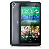 Cotechs® - New 2015 HTC Desire 820 Black Fusion Bumper Case With Clear Rear Panel