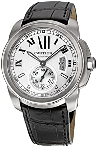 Cartier Men's W7100037 De Cartier Leather Strap Watch by Cornerwind Media