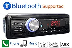 See Car Radio Bluetooth 1 DIN in Dash 12v Sd/usb Input Fm Stereo Mp3 Player Receiver Details