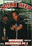 MOBB DEEP - INFAMOUS ALLEGIANCE PT 1 DVD/CD
