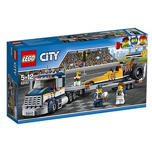 レゴ (LEGO) シティ 超高速レースカーとトレーラー 60151