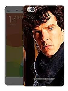 "Humor Gang Sherlock Cumberbatch Serious Printed Designer Mobile Back Cover For ""Xiaomi Redmi Mi 4C"" (3D, Matte, Premium Quality Snap On Case)"