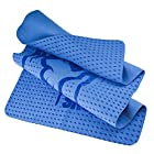 Radians Blue Arctic Skull Cooling Towel with Reusable Case