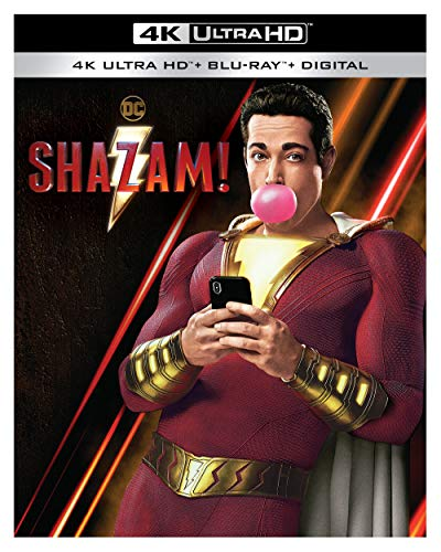4K Blu-ray : Shazam (2 Discos)