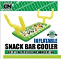 Football Field Goal Post Inflatable Buffet Snack Bar Cooler - Tailgate & Home Party Supplies