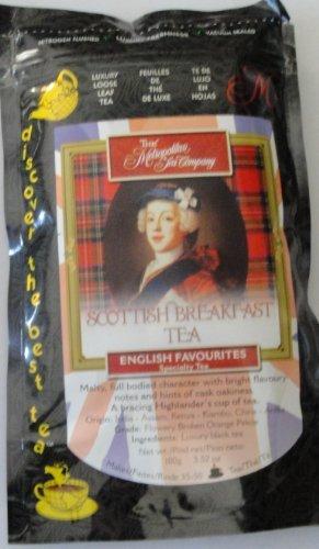 Metropolitan Tea Discovery Loose Tea Pack, Decaffeinated English Breakfast Decaffeinated, 100Gm