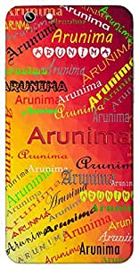 Arunima (Glow Of Dawn) Name & Sign Printed All over customize & Personalized!! Protective back cover for your Smart Phone : Samsung Galaxy A-7