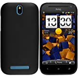 mumbi TPU Skin Case HTC One SV Silikon Tasche H�lle - Silicon Protector Schutzh�lle schwarz