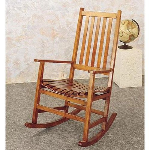 Glider chair best country style oak finish porch rocker check out