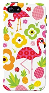 DailyObjects Flamingo Case for iPhone 5/5S (Back Cover)