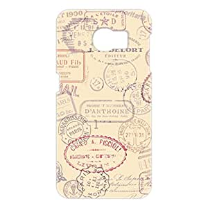 a AND b Designer Printed Mobile Back Cover / Back Case For Samsung Galaxy S6 Edge (SG_S6_3D_401)