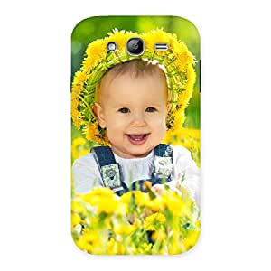 Ajay Enterprises Elite Laughing Baby Girl Back Case Cover for Galaxy Grand