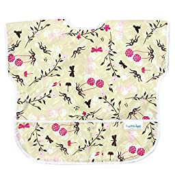Bumkins Waterproof Junior Bib, Flutter Floral (1-3 Years)