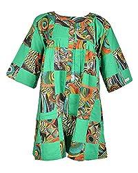 Beautiful Clothes Women's Regular Fit Dress(BCS 28_S,green,S )
