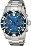Invicta Men's 18938 Pro Diver Analog Display Swiss Quartz Silver Watch