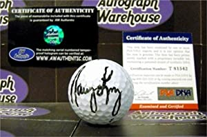 Nancy Lopez Autographed Hand Signed Golf Ball (PSA) by Hall of Fame Memorabilia