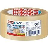 Tesa 57176-00000-08 pack Rouleau adhésif ultra puissant pour Emballage 66 m:50 mm Transparent
