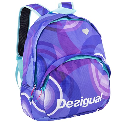 Desigual Sport, Zaino BOLS_BACKPACK RUN, Blu (Royal Blue), Taglia unica
