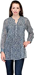 Belle Casual Full Sleeve Printed Women's Top (BC-54_40)
