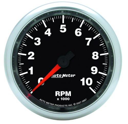 """Auto Meter 3897 Gs 3-3/8"""" 10000 Rpm In-Dash Tachometer"""