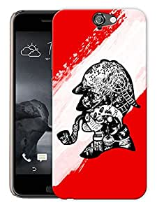 "Humor Gang Sherlock Mind Map Printed Designer Mobile Back Cover For ""HTC ONE A9"" (3D, Matte, Premium Quality Snap On Case)"