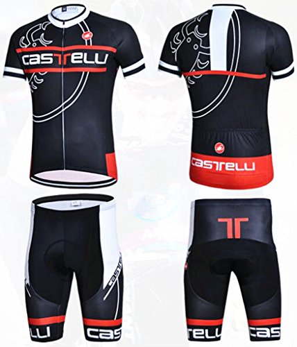 men-breathable-road-cycling-team-short-sleeve-cycling-jersey-and-cycling-shorts-kit-black-red-size-l