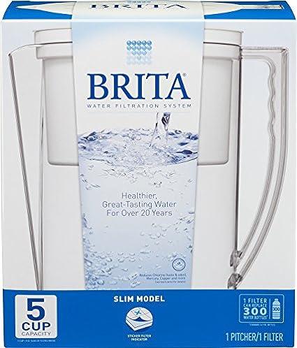 Brita-Slim-5-Cup-Water-Filter-Pitcher