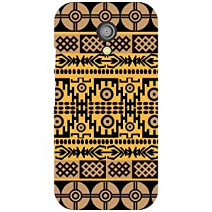 Motorola Moto G (2nd Gen) Back Cover - Artistic Designer Cases