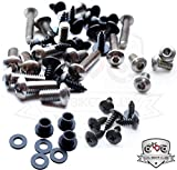 Suzuki Katana 600 750 1988-1997 Motorcycle Fairing Bolt Kit, Screws, Bolts, Fasteners 88 89 90 91 92 93 94 95 96 97