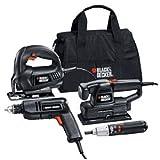 Black & Decker HPK-B 4 Tool Combo Kit with Carry Bag