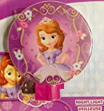 Disney Princess Sofia the First Night Light-Purple