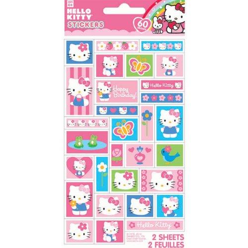 Imagen de Hello Kitty - 2 Planchas de calcomanías Conde