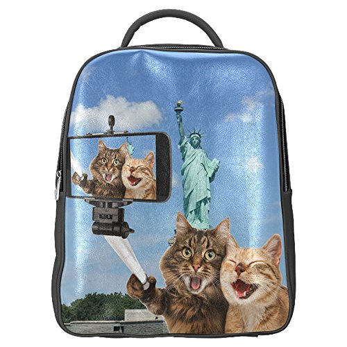 household-dream-customize-cute-cat-rucksack-pu-leather-backpack-front-wall-zippered-school-bag-trave