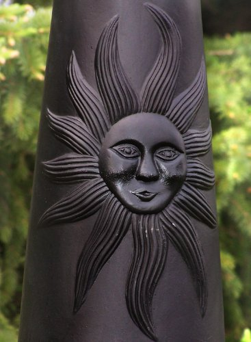 The-Blue-Rooster-Sun-Chiminea-in-Charcoal