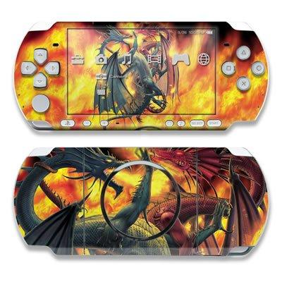 Dragon Wars Design Decorative Protector Skin Decal Sticker for PSP-3000